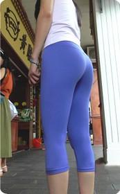 紧身瑜伽裤,绝对劲爆
