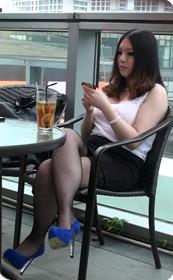 超性感黑丝短裙丰满美女